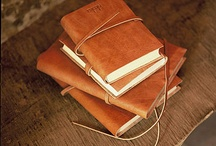 notebooks · stationery / stationery · notebooks · [leather-bound] journals · envelopes · stamps · penmanship · calligraphy · ink · ink pens · thank you notes - simply anything that embraces the handwritten word · gift wrapping