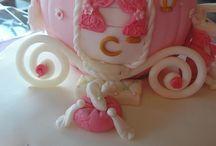 cake cinterella cariage