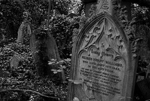 old grave yards and tombstones / by Dolly Bednarz
