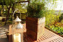 DIY in garden, Csináld magad tárgyak a kertben / Tárgyak, amiket mi csináltunk vagy szeretnénk egyszer megcsinálni.