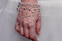 bridal hand gloves