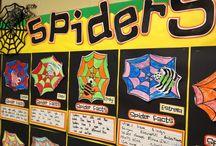 Second Grade Spiders Theme / by Anne Merkel