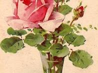 2 roser i vase