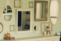 Picture Frame ideas / by Ashley Menefee