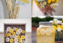 WEDDING | yellow & grey