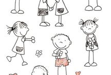 Illustrationen kids