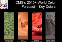 2015 World Key Colors from Color Marketing Group / CMG Members identify one Key Color annually from each of our four Color Forecasting Regions including North America, Europe, Asia and Latin America.  CMG's full World Color Forecasts are exclusive to CMG Members and are revealed annually at the International Summit.  Visit the CMG website for more information www.colormarketing.org