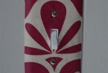 Placche interruttori / Light Switch Cover / by deborah Pastorello
