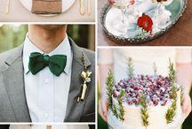 Autumn/winter wedding palate