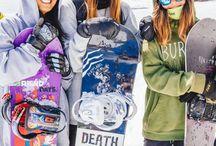 Snowboard & ski
