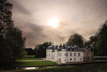 3rd Fimo Symposium France 2014 / Seth Savarick, Carol Blackburn, Sylvie Peraud and Céline Charuau in the fairytale Château Saint Just, near Paris