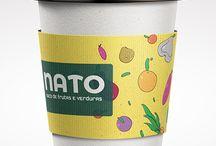 Marca/ Nato sucos de frutas e verduras