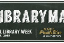 National Library Week / Celebrate the Library!!!