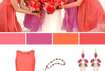 Coral Weddings Palettes