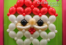 Winter Holiday Designers' Creations / The best creative ideas to decorate for Christmas brought to you by talented balloon artists from all over the world and Qualatex, the Very Best Balloons!