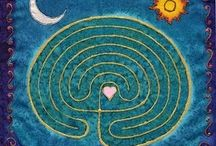 labyrinth / allerlei vormen van labyrinthen