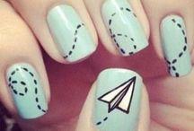 Nail art flying