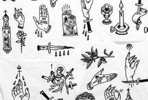 blackwork tattoo design