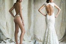 Backless Dresses n bras