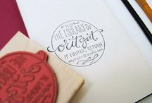 Saucy Stamps / branding & identity, to actual stamps.  / by loveistheanswer
