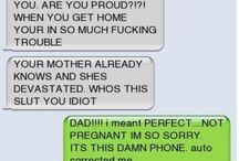 Grappige sms gesprekken