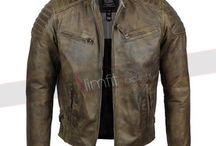 Mens Antique Washed Urban Jacket