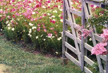 french country gardens and fences