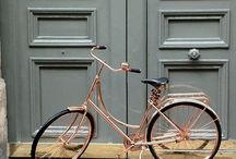 à bicyclette ... avec Paulette