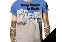 Born2Rock / Fantastic All over print T-shirts of some of the best rock bands ever. For those about to rock!