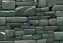 tekstur batu