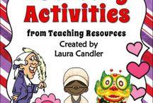 monthly activities / by Lori Wilson