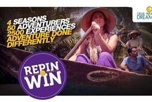 Repin to win! / The Largest Online Hunt for Adventure is here: GrabYourDream contest
