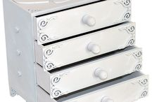 Drawers / Miniature drawers for a girls room