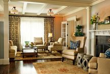 Living Room ideas / by Crystal Paul