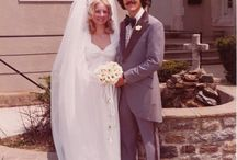 70er  und 80er Wedding Out fit