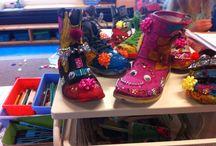 Schoenen / Pimpen van schoenen