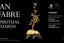 Jan Fabre. Spiritual Guards, 2016 / Piazza della Signoria and Palazzo Vecchio, Florence 15 April – 2 October 2016 Forte Belvedere, Florence, 14 May – 2 October 2016  Art Director, Sergio Risaliti Exhibition curated by Joanna De Vos and Melania Rossi