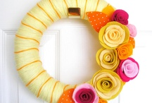 Wreath Pins / by Erin Parrott