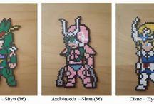 z - pixel art - Saint Seiya