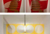 Wall optical illusion
