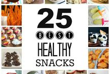 Healthy Snacks / My FAVORITE healthy snacks and go-to lunch ideas!  / by Family Fresh Meals