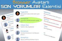 Blogger Avatarlı Son Yorumlar Eklentisi / 3 değişik stil Blogger Avatarlı Son Yorumlar Eklentisi Recent Comment Widget With Avatar for Blogger Blogger Resimli Son Yorumlar Eklentisi (widget) Blogspot Blogger Son Yorumlar Avatarlı Widget Eklentisi