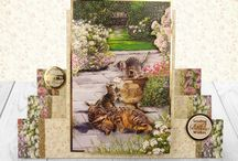 Hunkydory - Concept Cards, Decoupage Cards and more / A selection of fantastic concept cards, decoupage cards and shaped cards from Hunkydory launches past and present.