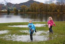 I'm Only Happy When It Rains / Rain never stops play for Little Trekkers. All you need is some wellies, waterproofs and a child's imagination.