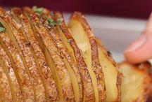 pečená brambora