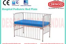 Pediatric Hospital Bed Manufacturers / DESCO provides a wide range of Hospital Pediatric Bed with dropside rails. Our Hospital Pediatric Bed is widely used in hospitals for giving high comfort to patients. For more details visit our website.