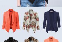 Blazers, jackets.