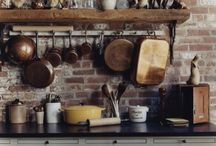 French Country Kitchen / The essentials for a beautiful French country kitchen suggested by La Maison Bleue