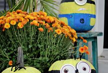 Harvest ~ Halloween / Decorating and DIY Ideas for Fall and Halloween
