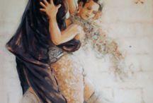 Decoupage  Dancers